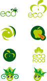 A set of logos Royalty Free Stock Photography