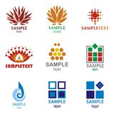 Logos royalty free illustration