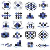 Set logotypy royalty ilustracja