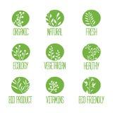 Set logowie, ikony, etykietki, majchery lub znaczki, Zdjęcie Stock