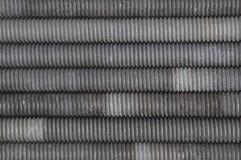 Set of long screws Stock Photo