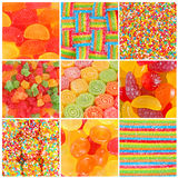 Set of A lot of colorful colorful candies Royalty Free Stock Photos