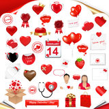 Set Love. Vector Royalty Free Stock Images