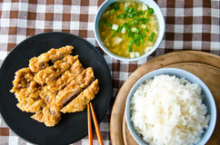 Set lunch Stock Photography