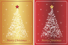 Set of luxurious christmas backgrounds Stock Photo