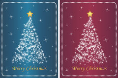 Set of luxurious christmas backgrounds Royalty Free Stock Photo