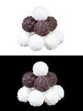 Set of luxury chocolates Royalty Free Stock Image