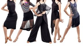 Set młoda tancerz kobieta w pięknej sala balowej ubiera Obrazy Royalty Free