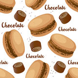 Set of macaroons Royalty Free Stock Images