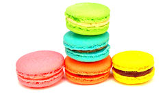 Set macaroons Stock Images