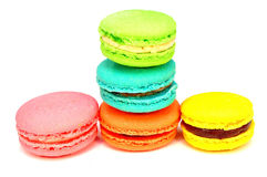 Set macaroons Stock Image