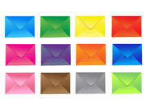 Set of mail icon Stock Image