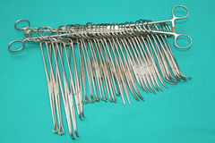 Set of majar surgical instrument Stock Photo