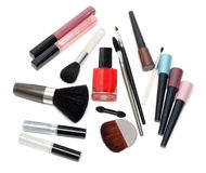 Set of the make-up Royalty Free Stock Image