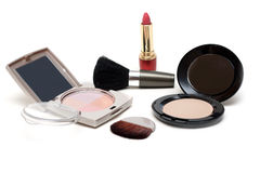 Set of the make-up Stock Image