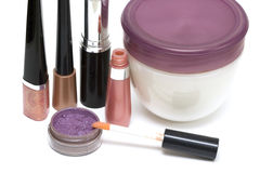 Set for make-up Royalty Free Stock Photography