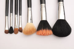 Set of Make-up brushes, Royalty Free Stock Photo