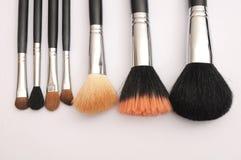 Set of Make-up brushes, Royalty Free Stock Photo