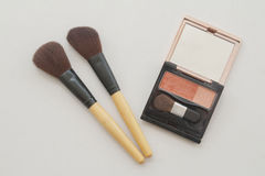Set for make up face cosmetics Royalty Free Stock Photography