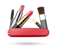Set of make-up Royalty Free Stock Image