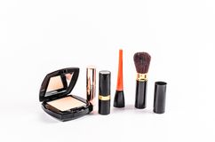 Set of makeup cosmetic Stock Image