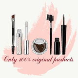Set of makeup for the eyes Stock Photography