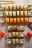 Set of Maki Sushi Stock Photography