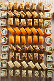 Set of Maki Sushi Stock Image