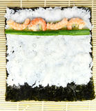 Set for making maki sushi Royalty Free Stock Image