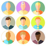 Set man, guy, athlete, teacher, African, yoga. vector illustrati. Set man, guy, athlete, teacher African yoga vector illustration Royalty Free Stock Images
