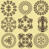 Set of mandalas (Vector) Stock Photos