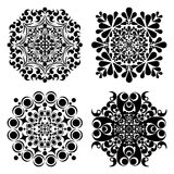 Set Mandalas. Round Ornament Pattern. Vector illustration Stock Photography