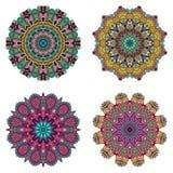 Set mandalas Wektorowa mandala kolekcja dla twój projekta fotografia royalty free