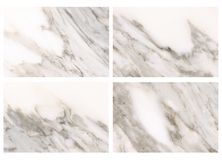 Set of Marble background. Stock Photos