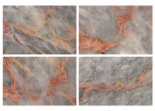Set of Marble background. royalty free stock photo