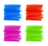 Set of Marker Stains. Vector illustration for your design Royalty Free Stock Photo