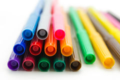 Set of markers Stock Photography