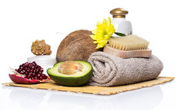 Set for massage or body care Royalty Free Stock Images