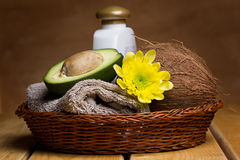 Set for massage or body care Stock Image