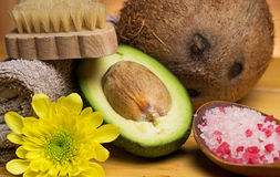 Set for massage or body care Stock Images