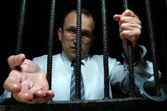 Set me free from prison Stock Image