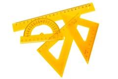 Set of measuring tools Stock Image