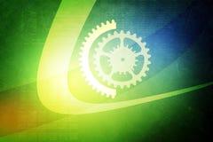 Set of mechanical gears Stock Image