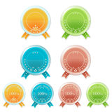 Set of medals. Vector eps10 illustration Royalty Free Stock Photos