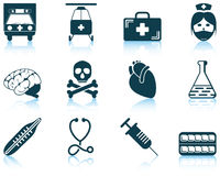 Set of medical icon Stock Photo