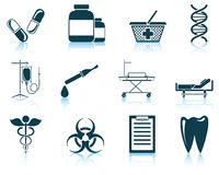 Set of medical icon Stock Image