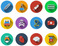 Set of medical icon Stock Photos