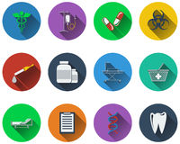 Set of medical icon Royalty Free Stock Photography