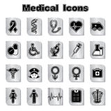 Set of Medical icons Stock Photos