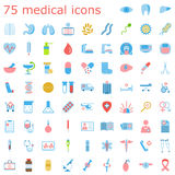 Set of medical icons. Royalty Free Stock Image